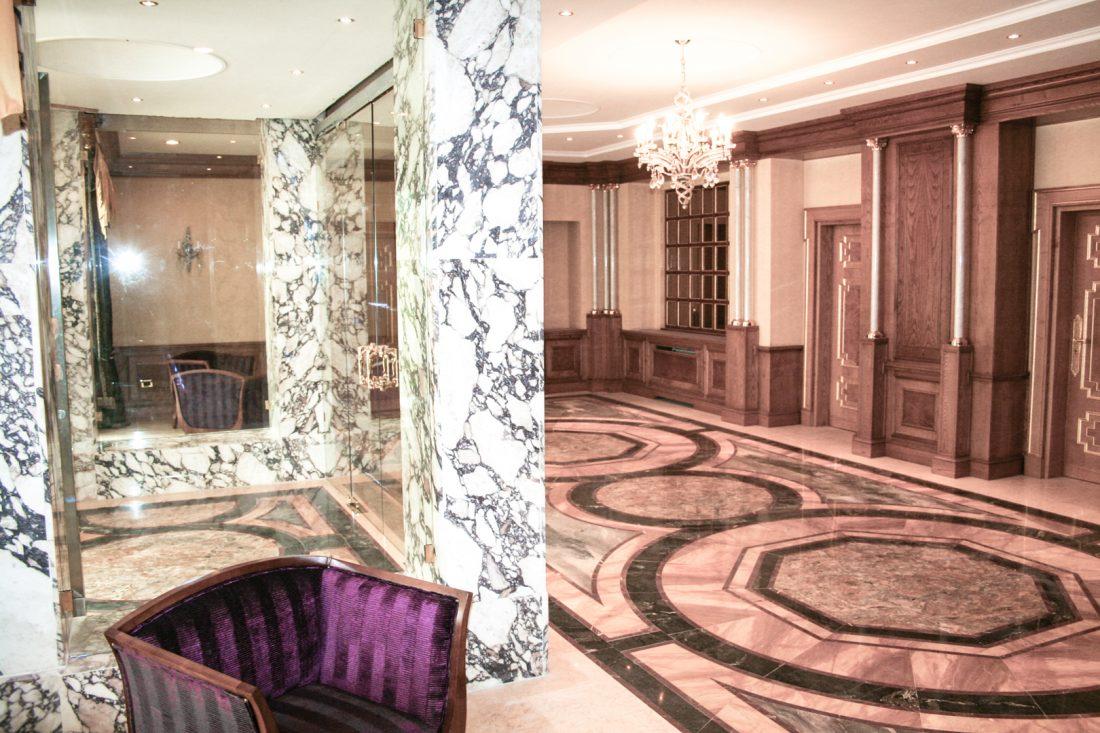 Villa Yacine Tapis De Marbre Du Hall D Entree Arcop Vp