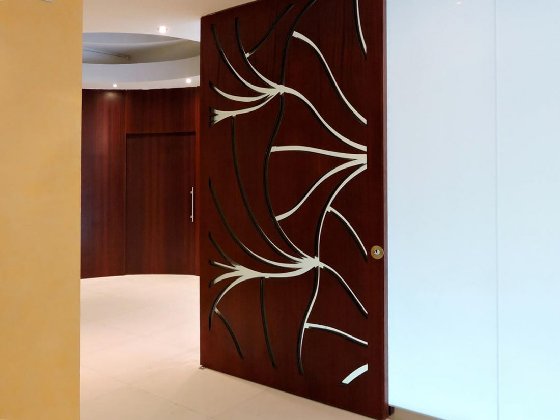 & VILLA ORCHIDEE u2013 PERFORATED DOORS - Arcop-VP